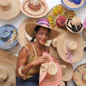 Didiere Sinseau et chapeaux